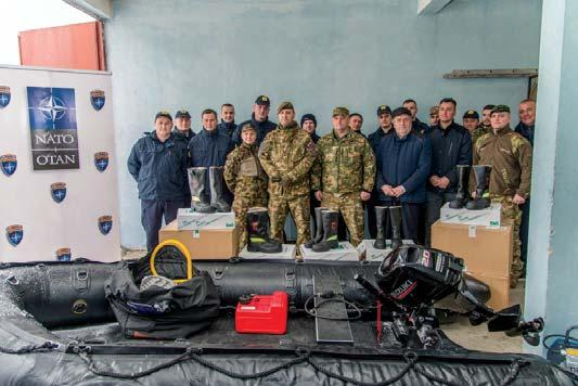 KFOR DONATES SPECIALIZED EQUIPMENT FOR THE FIRE BRIGADE DEPARTMENT OF LEPOSAVIC After receiving a request from the fire brigade department of Leposavic to KFOR for specialized equipment in September