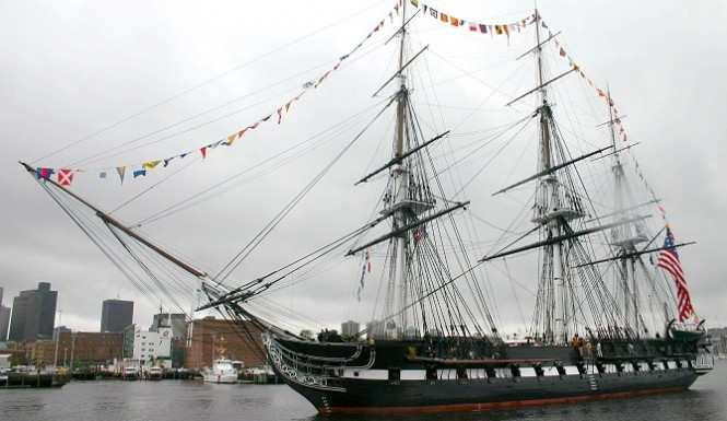 USS Constitution Takes One Last Trip Around Boston Harbor Before 3-Year Restoration The Washington Post reports that the USS Constitution, the world s oldest commissioned warship still afloat, was