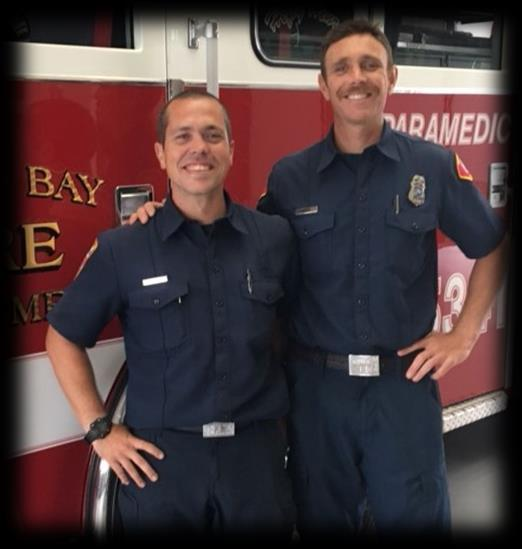 Fire Department Badge Ceremony on September 11,2018 The Morro Bay Fire Department is pleased to announce the hiring of Sam Joseph Watson as our next Firefighter Paramedic and the promotion of