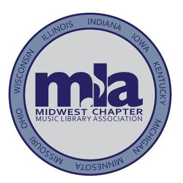 New Chapter Logo FOR IMMEDIATE RELEASE: January 6, 2012 MLA Midwest Chapter announces new logo DeKalb, Illinois The Midwest Chapter of the Music Library Association conducted a logo contest during