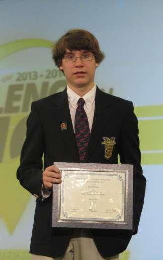 Page 11 Mossy Creek Middle School MCMS Student Wins National FBLA Award Mossy Creek Middle School student Andy Davis won first place at the Future Business Leaders of America (FBLA) National