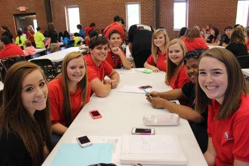 Page 3 Warner Robins High School WRHS FCCLA Attends Discover Training WRHS FCCLA members attended Discover Training at Camp