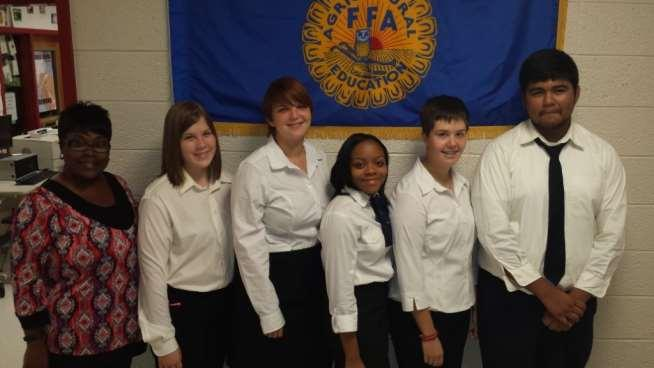 Page 6 WRHS FFA Selected to Compete for National Recognition Warner Robins High School s FFA chapter was recently selected to compete for national recognition in an FFA Career Development Event at