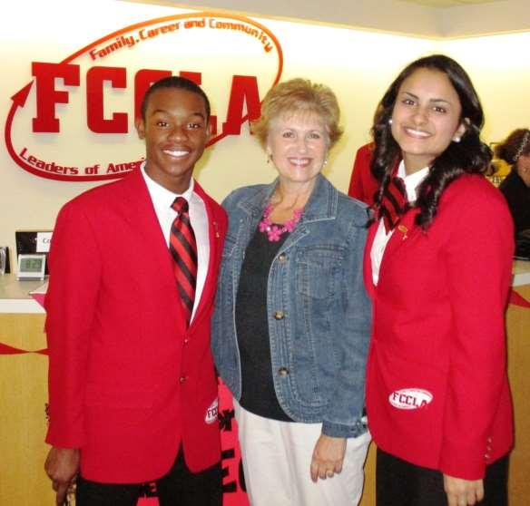 Page 8 HCHS FCCLA National Officers Participate With Planning in Virginia Houston County High seniors and National Family, Career and Community Leaders of America (FCCLA) National Officers, David