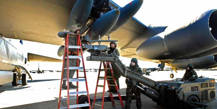USAF photo by SrA. Alexandra M. Sandoval USAF photo by Lance Cheung 32 The reinvigoration of nuclear operations at AFGSC has raised long-range strike s importance.