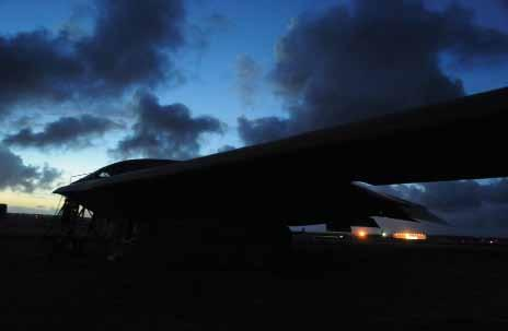 USN photo by Lt. Marques Jackson and nuclear strike profiles, support Pacific Air Forces, and integrate with other services such as the Navy and coalition partners.
