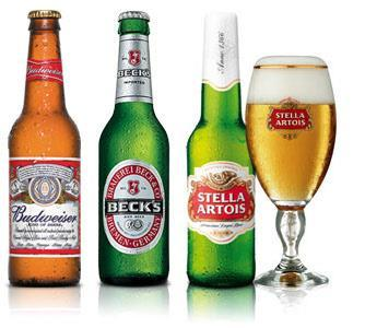the integration of Anheuser-Busch, 45% of the company's sales come from North America AB