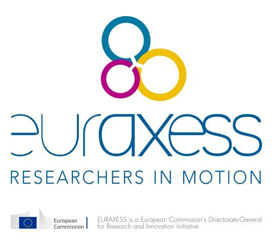 About EURAXESS EURAXESS Researchers in motion is a European Commission initiative, removing the barriers to brain circulation since 2003