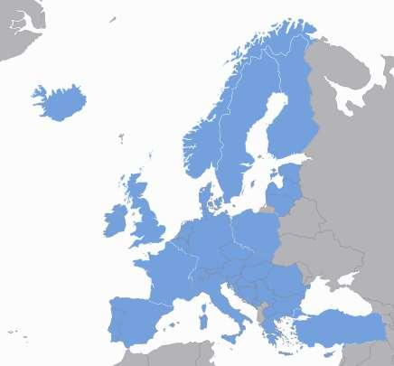COST Countries The 36 COST Member Countries are: Austria, Belgium, Bosnia and Herzegovina, Bulgaria, Croatia, Cyprus, Czech Republic, Denmark, Estonia, Finland, France, Germany, Greece, Hungary,