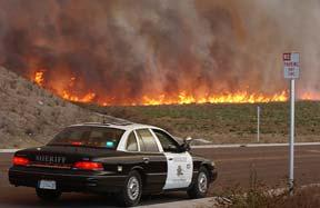in 2003 (Cedar Fire) No initial Mutual Aid System support NWCG qualified staff