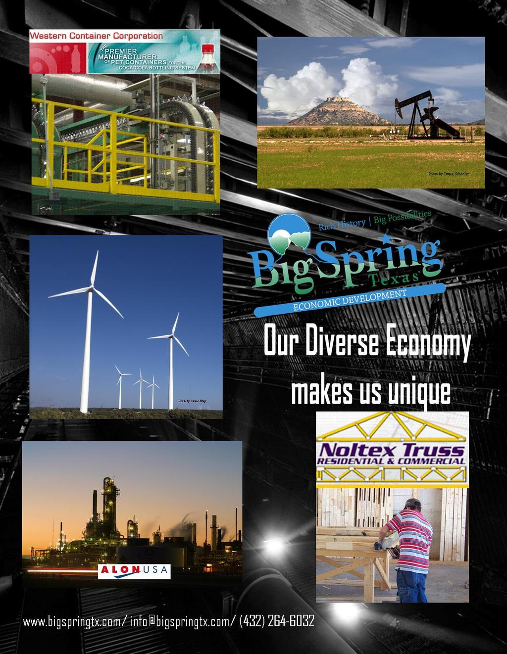 Big Spring Economic Development Corporation Big Spring EDC has been publicized in many magazines that are not only distributed Nationwide but worldwide as well.