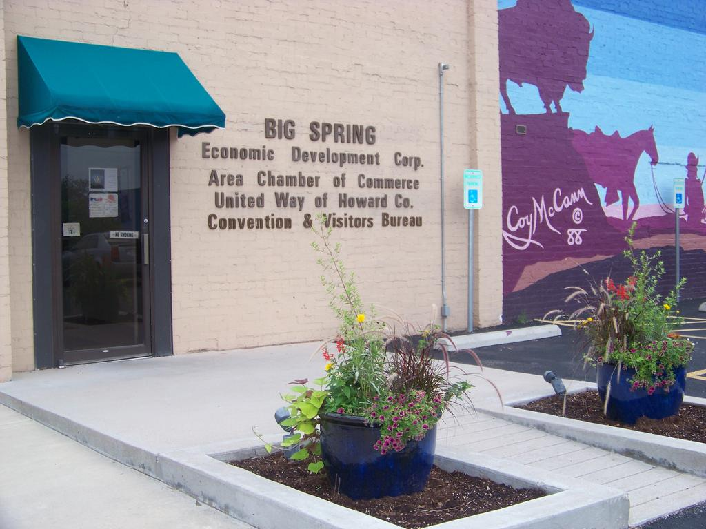MISSION STATEMENT To assist, stimulate, and enhance economic development in Big Spring, Texas, subject to applicable State and Federal laws and the Bylaws and the Articles of Incorporation.