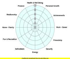 WELLNESS WHEEL ACTIVITY Rate your level of satisfaction in each area of your life using a number between 1 and 10. The closer you are to 10 the more satisfied you feel.