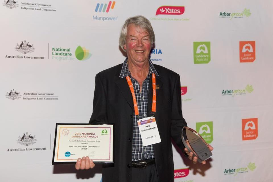 The Western Australian Landcare Community was well represented at the awards with 5 of the 9 awards coming to the west including the Landcare Facilitator, Young Landcare Leader and Innovation in