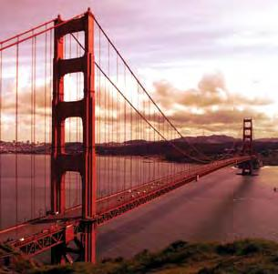 #1 Golden Gate Bridge Whether you ve seen the bridge on a previous trip, or have yet to experience its glorious glow, the world s most famous bridge will impress you. The 1.