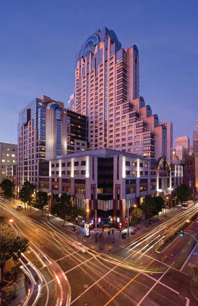 Located in the Heart of San Francisco The site of MCAA 2010 is the beautiful San Francisco Marriott Marquis, located in the trendy heart of the city, just off Market at Fourth and Mission.