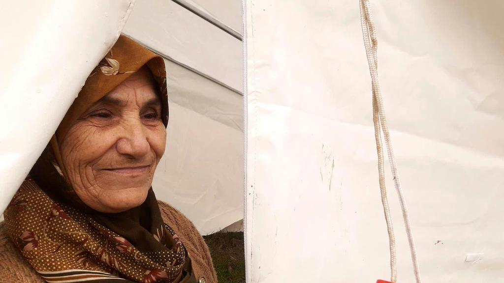 ACHIEVEMENTS BY CLUSTER 39 I was hiding under my bed when it happened, Amira, a sixty-year-old Syrian, used to live in Lattakia Governorate with her family of five.