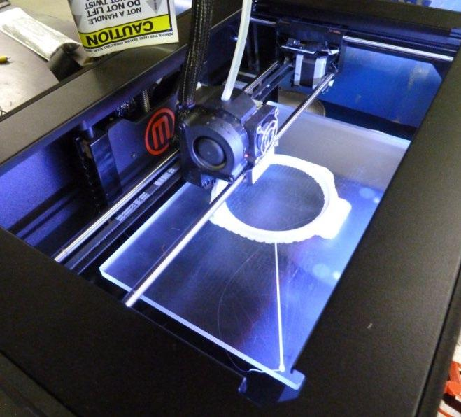 Evaluation of Three-Dimensional (3D) Printing Technology for Coast Guard Applications Mission Need: Assessment of the potential for 3D printers to improve mission readiness by reducing logistical