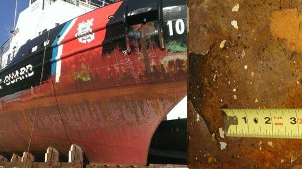 Corrosion Control and Monitoring Mission Need: Research and mitigate corrosion impacts on cutters by increasing mission support efficiencies and reducing costs.