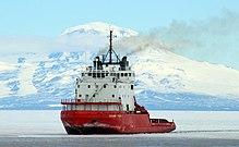 Research Existing Vessels Capable of Icebreaking Mission Need: A short-term backup plan to support existing polar