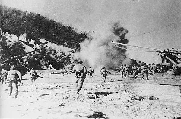 The Allies began island hopping The Allies plan was to island island- hop past strongholds and attack weaker Japanese