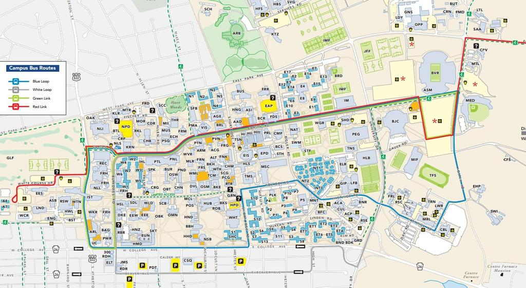 Misericordia University Campus Map.For The Students By The Students Club Sports Visiting Club Guide Pdf