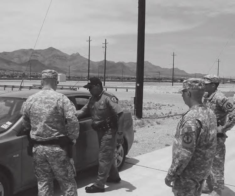 The 591st Military Police Company placed that same emphasis on preparing for the community law enforcement mission.