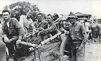 Bataan Death March The 512 prisoners-ofwar who still remained at the Cabanatuan Prison Camp as of January 1945 were freed during an attack on