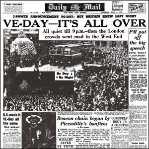 Unconditional Surrender April 25, 1945, the Soviet army captured Berlin.