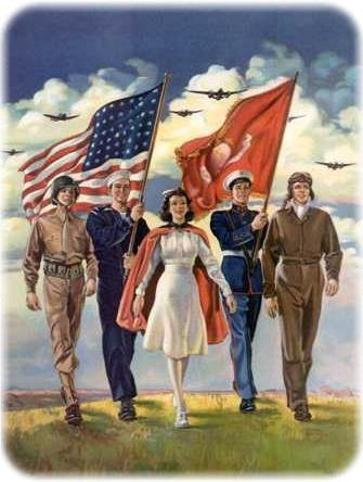 The Selective Service System expanded the draft, and 10 million more men joined the ranks of the