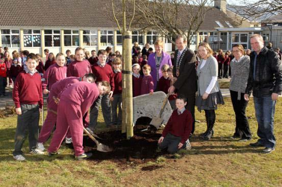 National Tree Week The Cathaoirleach of Mayo County