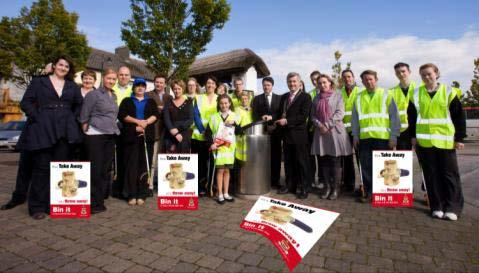 Mayo County Council Take away Litter Campaign. A new anti-litter campaign was launched by Cathaoirleach, Cllr.