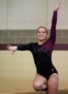 Freshman Year (2011-12): Recorded a season-high score of 8.125 on vault at the Yale Quad on Feb. 11.