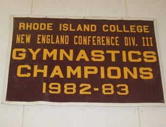 /Braintree High School: Lettered in gymnastics,