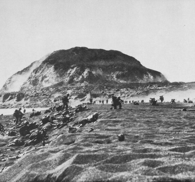 3 continued The Allies Go on the Offensive Iwo Jima After retaking much of the Philippines and liberating American