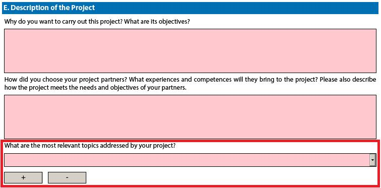 introduced partner sections, e.g. you cannot add partners between partners 2 and 3, if you have already included 3 partners.