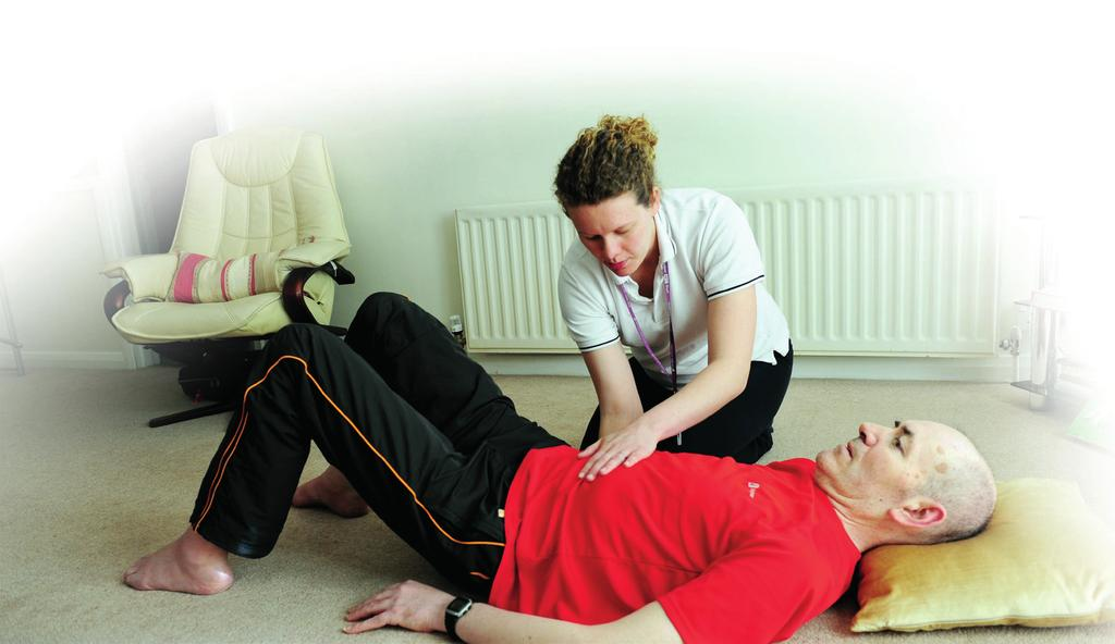 Physiotherapy Physiotherapy is a healthcare profession that works with people to identify and maximise their ability to move and function.