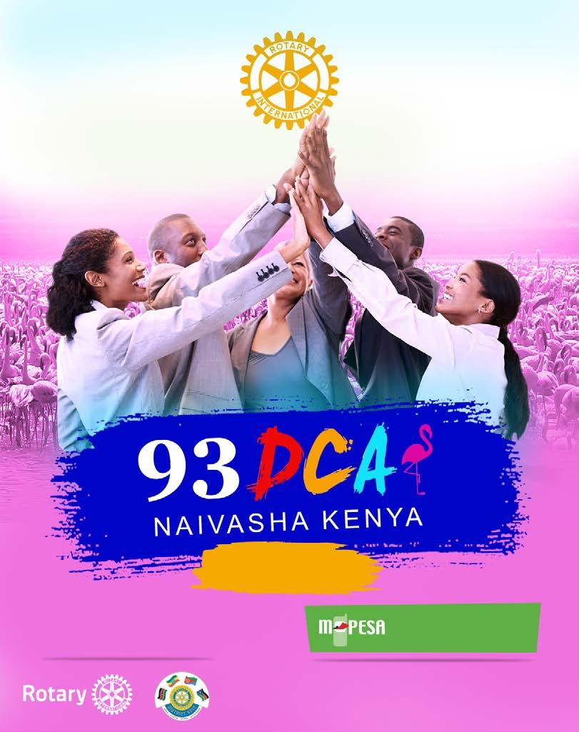 ROTARY D9212 DISTRICT CONFERENCE & ASSEMBLY 19TH - 22ND APRIL 2018 ENASHIPAI RESORT & SPA REGISTER NOW $200 (Ksh.