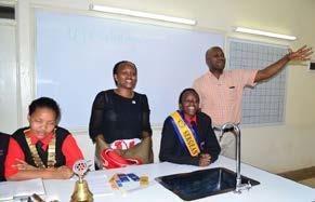 The Rotary movement in the region was slowly crystalizing at Starehe Girls in their bid to achieve Rotary International s objective to support literacy and basic education.