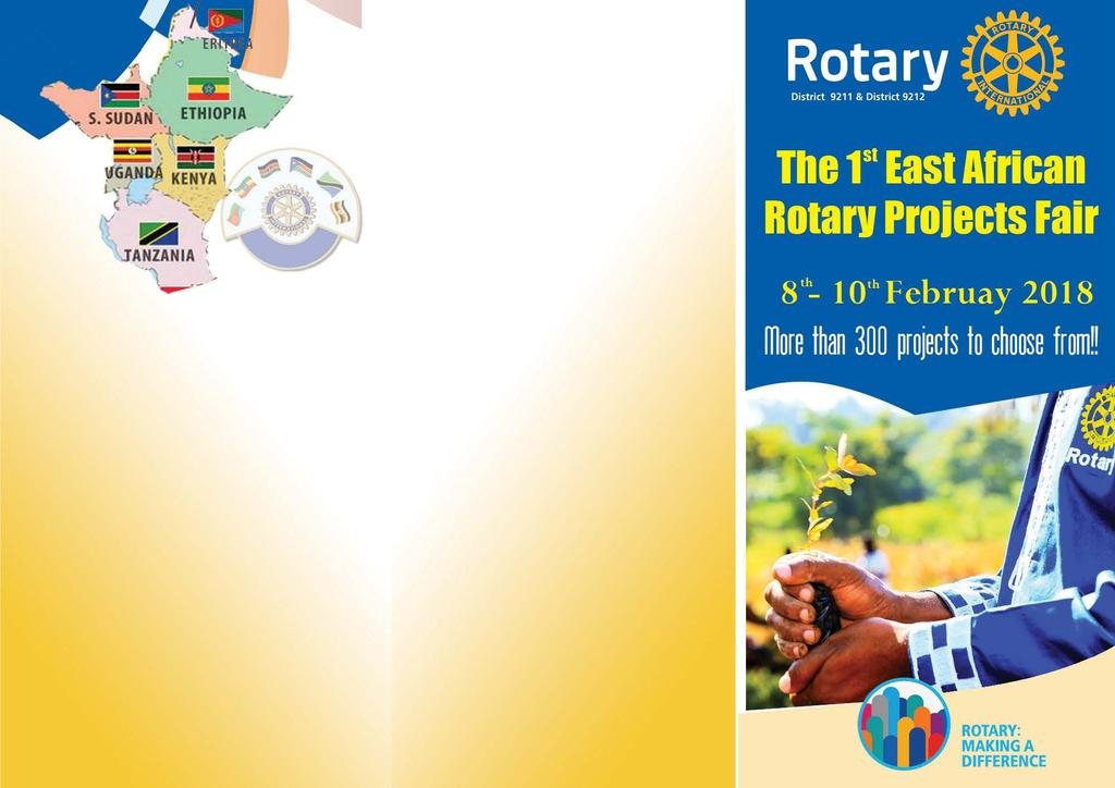 THE 1 ST EAST AFRICAN ROTARY PROJECTS FAIR 8th-10th