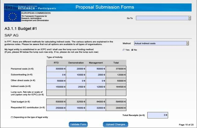 Steps for the submission of Proposals Instrument selection Pre-registration