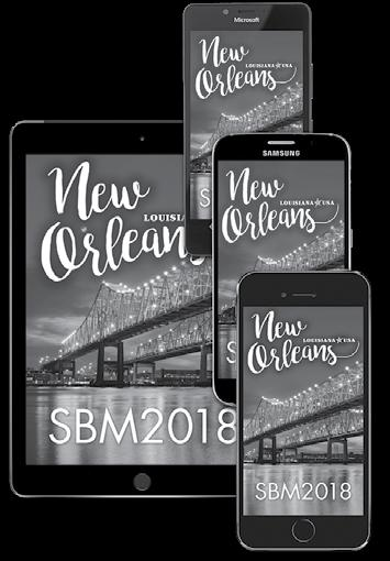 SBM Mobile App Download the free 2018 Annual Meeting mobile app by searching SBM Events in your app store and downloading