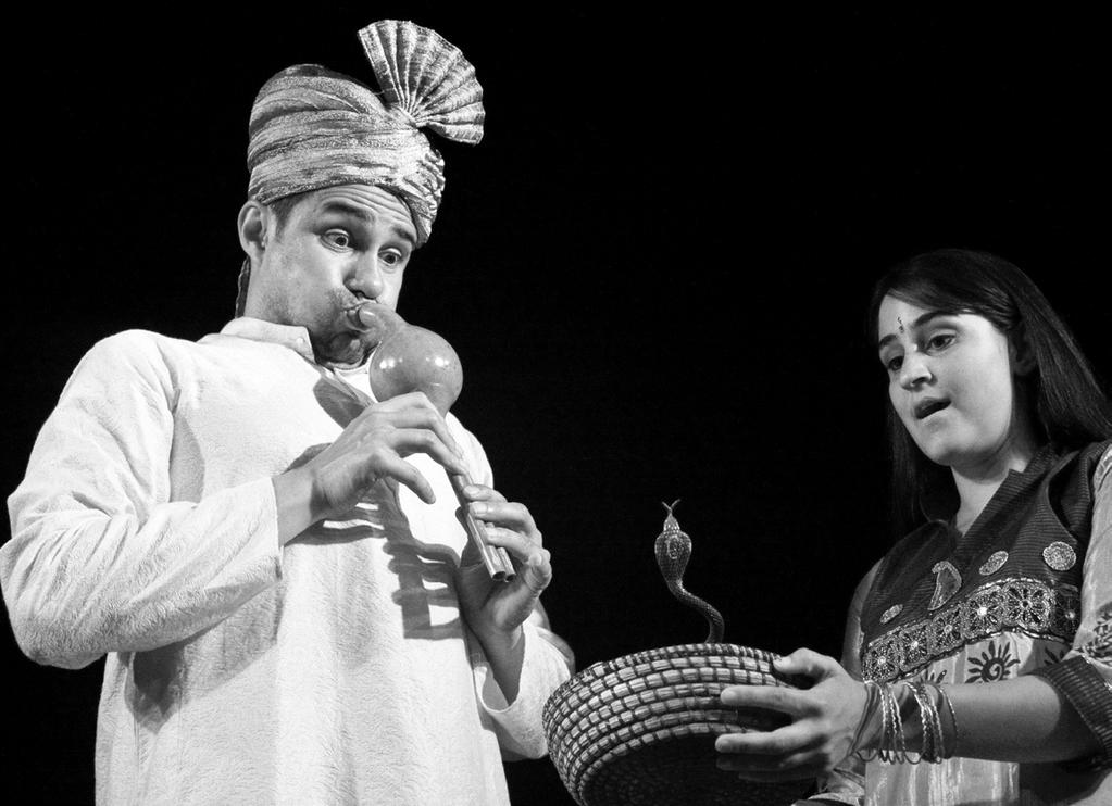 Jadoo: An Indian Magic Show with Shreeyash Palshikar Thursday, 6:00 pm - 7:00 pm Wisconsin Ballroom (second floor) This show presents feats of ancient Indian magic with some surprising new twists in