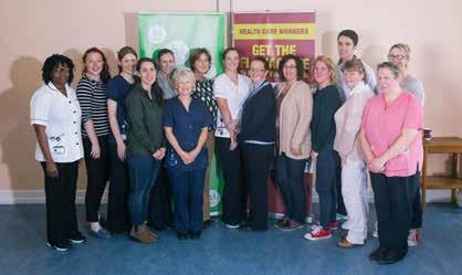SEPTEMBER Irish Olympians Inspire at Children s Ark Staff at the Children s Ark, University Hospital Limerick, were delighted to welcome back former colleague and Olympic rowing finalist Sinead