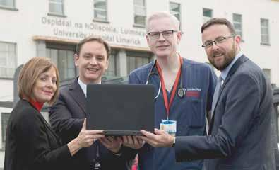 UL Hospitals Group Annual Review 2016 The introduction of a new patient administration system for the region was a key milestone both locally and nationally in 2016.