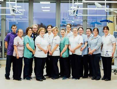 UL Hospitals Group Annual Review 2016 Left The Dialysis Team pictured in the new Renal Dialysis Unit, UHL. Below Members of the Medical Assessment Unit team in Ennis Hospital.