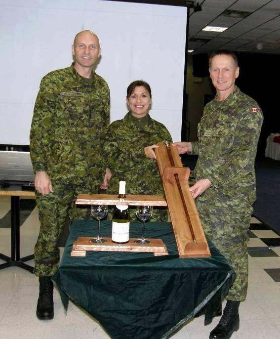 CWO Beach was recognized and presented with Unit commemorative gifts on your behalf, 10 Feb 2010, during the Unit Ranking Boards in Trenton.