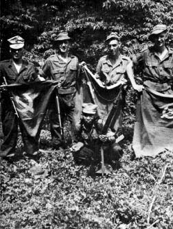 JUNGLE WAR when the platoon came under heavy fire from many terrorist weapons, including at least three Bren guns.