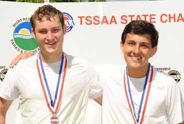 TN) Doubles Champions Michael Arguello & Will Jayne