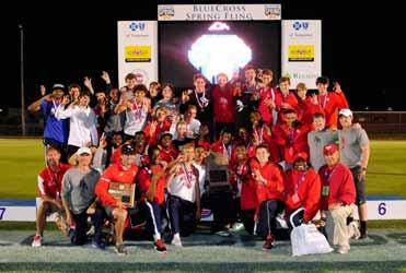 Tennessee Secondary School Athletic Association 2013 Boys Track State Champions